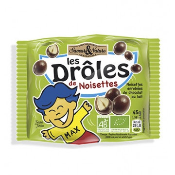 LES DROLESDE DE NOISETTES 45G