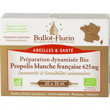 BALLOT FLURIN AMPOULES...