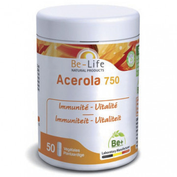 BE-LIFE ACEROLA 750 50GEL
