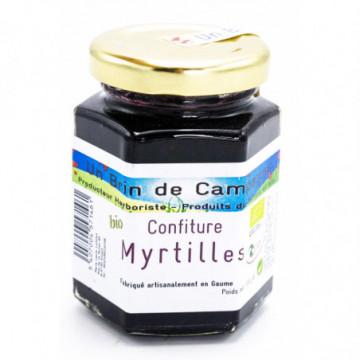 CONFITURE DE MYRTILLES 130G