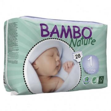 BAMBO COUCHE BEBE N1 2-4KG 28P