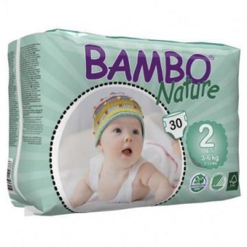 BAMBO COUCHE BEBE N2 3-6KG 30P