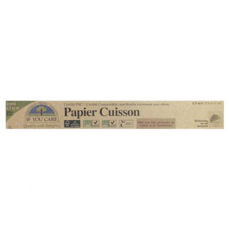 IFYOUCARE PAPIER CUISSON BLANCHI 19.8M/33CM