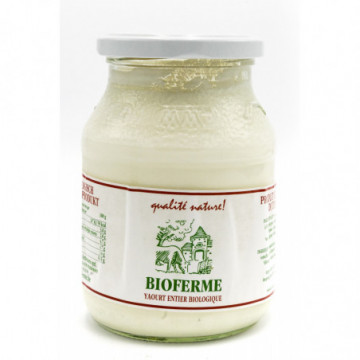 BF YAOURT NATURE ENTIER 500GR