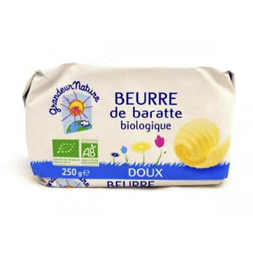 GN BEURRE DE BARRATE DOUX 250G