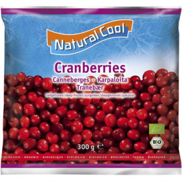 NATURAL COOL CANNEBERGES 300GR