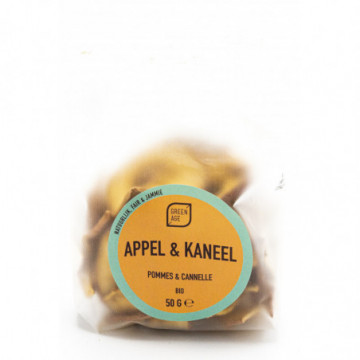 GREEN AGE POMMES CANNELLE 50G