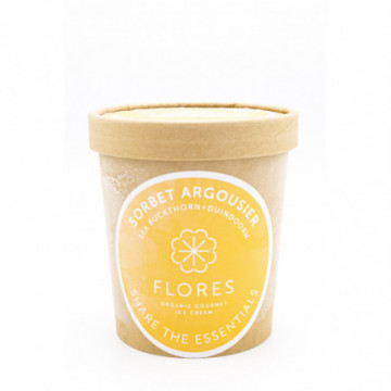 FLORES SORBET ARGOUSIER 450ML