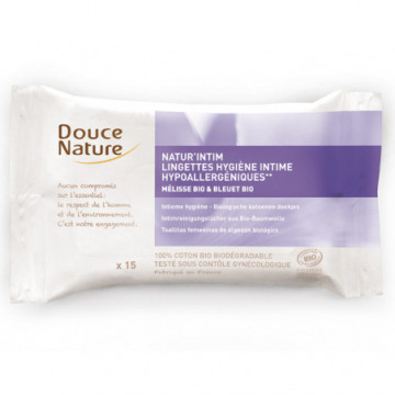 DOUCE NATURE LINGETTE INTIME