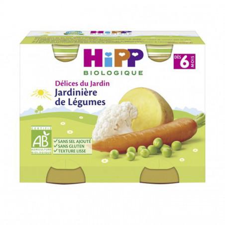 HIPP JARDINIERE DE LEGUMES 4 MOIS BIO 2X190G