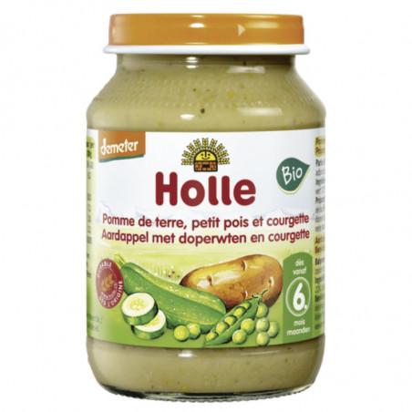 HOLLE PDT PETIT POIS ET COURGETTE > 6 MOIS 190GR