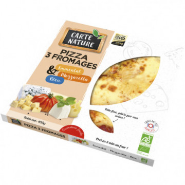 PIZZA 3 FROMAGE 400GR