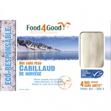 FOOD4GOOD DOS CABILLAUD...