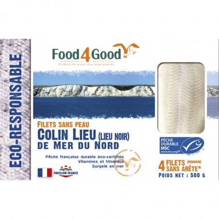 FOOD4GOOD FILET COLIN LIEU MSC 500 GR
