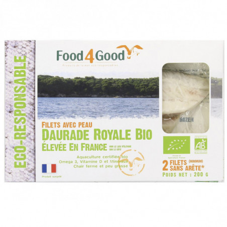 FOOD4GOOD DAURADE ROYALE BIO 200GR
