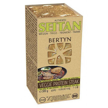 BERT STEAK SEITAN SOYU 300GR