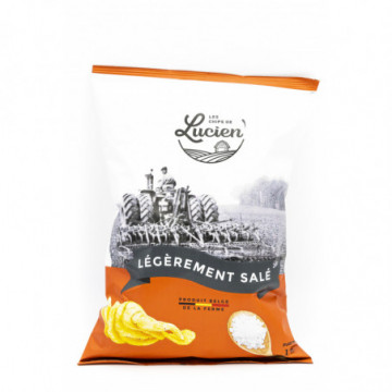 CHIPS DE LUCIEN SALE 125GR