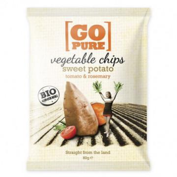 GO PURE VEGETABLE CHIPS 90GR