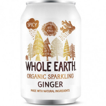 WHOLE EARTH GINGEMBRE 330ML
