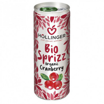 HOLLINGER CRANBERRY SODA 250ML