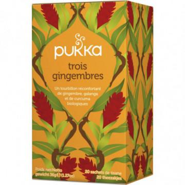 PUKKA TROIS GINGEMBRES 36G