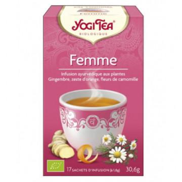 YOGI TEA FEMME  17 INF