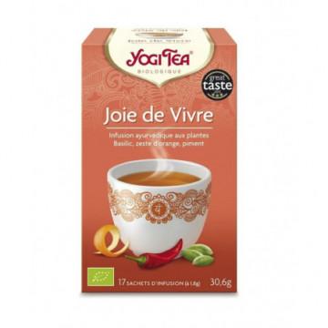 YOGI TEA JOIE DE VIVRE 17 INF