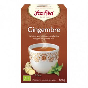 YOGI TEA GINGEMBRE 17 INF
