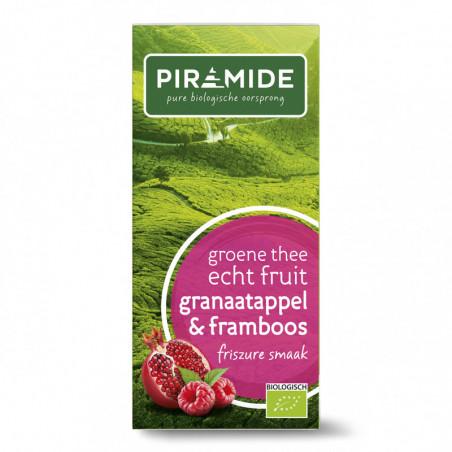 PIRAMIDE THE VERT GRENADE FRAMBOISE 20INF