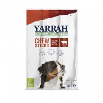 YARRAH CHIEN STICKS BOEUF 33GR