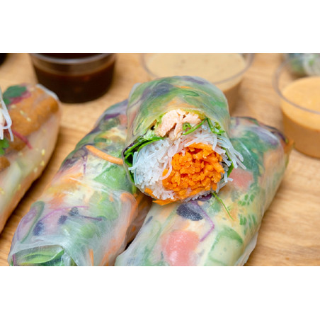 Saumon Label rouge à la japonaise 2 pièces
