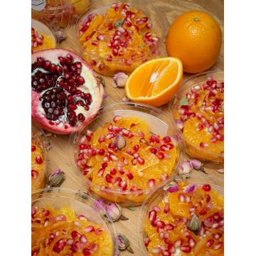 Salade d'oranges & grenades...
