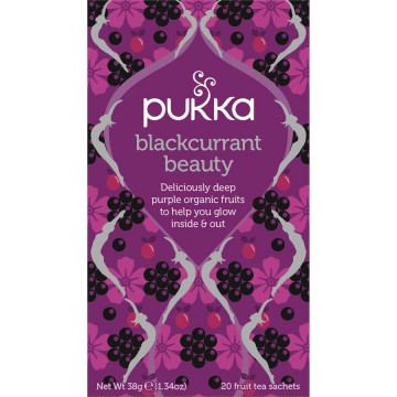 PUKKA BLACKCURRANT/CASSIS