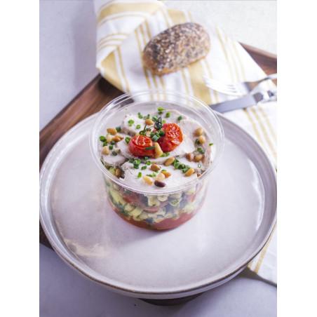 victorine salade poulet pesto