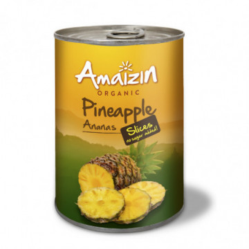 AMAIZIN ANANAS TRANCHES 400GR