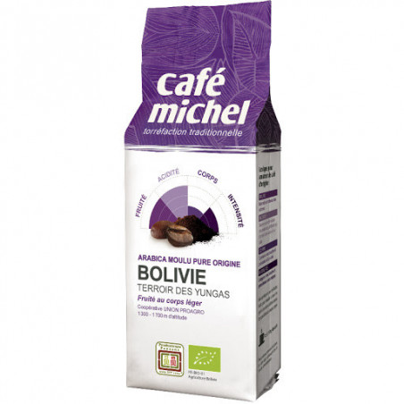 CAFE MICHEL BOLIVIE MOULU 250G