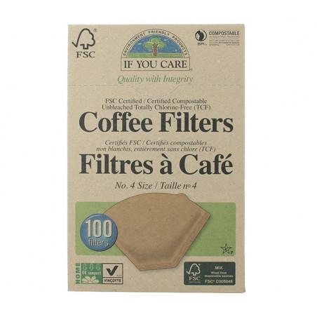 IFYOUCARE FILTRE A CAFE PAPIER 100P